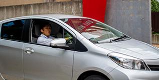Pick-up of Rental Car