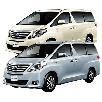 Minivan (ALPHARD) Plan